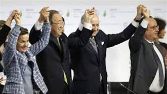 December 12, 2015: Universal Signature for Climate Agreement